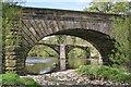 SD7039 : Lower Hodder Bridge, River Hodder : Week 17