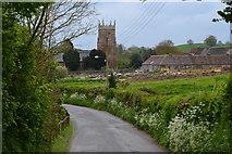 ST6259 : View down Church Lane by David Martin