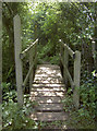 ST6564 : Bridge over the Bathford Brook by Neil Owen