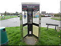 SU9394 : KX300 Telephone Kiosk in Winchmore Hill by David Hillas