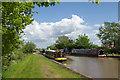 SJ6357 : Approaching Cholmondeston Lock by Stephen McKay