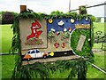 SK2632 : Etwall Well Dressing - 2017 (Women's Cricket World Cup) by John M