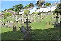 TR1634 : St. Leonard's churchyard, Hythe by pam fray
