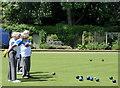 TR1634 : Hythe Bowling Club by pam fray
