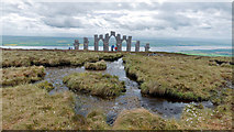 NH6069 : Pools beside the Fyrish Monument by Julian Paren