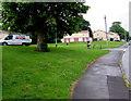 ST3091 : Glevum Heating van, Darwin Drive, Malpas, Newport by Jaggery