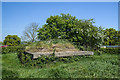 SJ4861 : WWII Shropshire, Shropshire Union Canal, Hargrave - pillbox (2) by Mike Searle