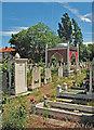 TQ3593 : Tottenham Park Cemetery, Upper Edmonton : Week 24