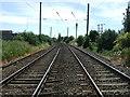 TL3948 : Railway towards Royston and London by JThomas