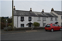 SX5062 : Row of cottages by N Chadwick