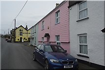 SX5062 : Colourful Cottages by N Chadwick