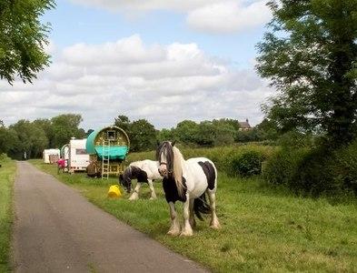 SP4055 : Travelling folk by Greg Fitchett