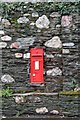 SX4760 : Victorian postbox by N Chadwick