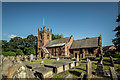 SJ3971 : St Oswald's Church, Backford, Chester by Brian Deegan
