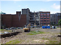 NS5965 : Demolition site on Brunswick Street by Thomas Nugent