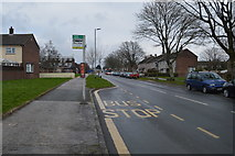 SX4860 : Bus stop, Southway Drive by N Chadwick