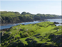 NM4201 : Northern headland of Colonsay by Julian Paren