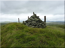 SH9220 : Carreg y Bîg triangulation point by Richard Law