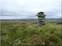 SH9419 : The Blaen Cownwy cairn by Richard Law