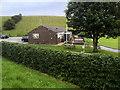 SE1019 : Blackley CC Pavilion, Lindley Road by David Dixon