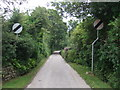 SW5534 : The Green Lane, St Erth by JThomas