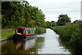 SJ5446 : Llangollen Canal near Willey Moor in Cheshire by Roger  Kidd