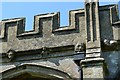 SP7722 : North Marston, St. Mary's Church: Tower corbels 3 by Michael Garlick