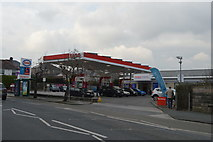 SX4956 : ESSO filling station, Higher Compton by N Chadwick