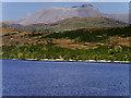 NN1873 : Loch Linnhe and Ben Nevis by David Dixon
