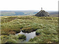 NY8244 : Bog and currick on Killhope Law by Mike Quinn