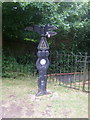 SP0580 : Millennium Milepost, National Cycle Route 5 by JThomas