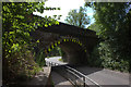 TQ2953 : Merstham. Bridge over School Hill by Robert Eva