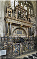 SP2864 : Tomb of Robert Dudley, St Mary's church, Warwick by J.Hannan-Briggs
