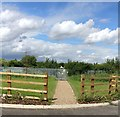 SK5801 : Path to the allotments by Mat Fascione