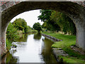 SJ5747 : Llangollen Canal west of Wrenbury in Cheshire by Roger  Kidd