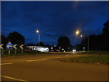 SU7775 : Roundabout on Bath Road, Charvil by David Howard