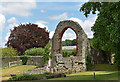 TR1557 : Remains of St Pancras Church, Canterbury - July 2017 by The Carlisle Kid