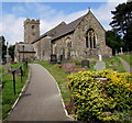 ST2179 : Saint Augustine, Rumney, Cardiff by Jaggery