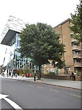 TQ3179 : Flats on Blackfriars Road, Southwark by David Howard