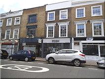 TQ2984 : Shops on Park Way, Kentish Town by David Howard