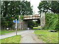 SX0667 : Bridge over the Camel Trail at Scarlett's Well by Rod Allday