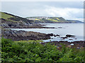 SX1050 : Polridmouth Cove and Southground Point by John Lucas
