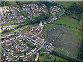NS4462 : Elderslie from the air by Thomas Nugent