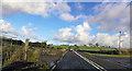 SH4746 : A487 at Dafarn Faig by John Firth