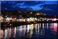 NZ9010 : Whitby Harbour by Richard Croft