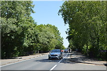 SP5204 : Weirs Lane, B4495 by N Chadwick