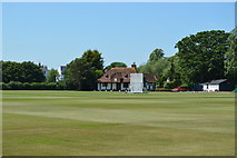 SP5105 : Queens College Sports Ground by N Chadwick