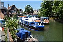SP5105 : Boats near Folly Bridge by N Chadwick