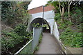 TQ2489 : North Circular Bridge over Mutton Brook and Capital Ring by N Chadwick