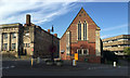 SP2865 : Three buildings near North Gate, Warwick by Robin Stott
